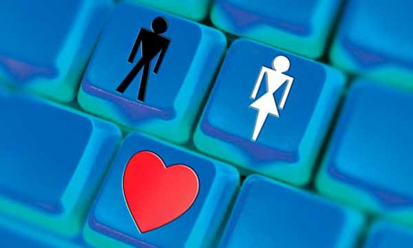 relacionamentos na internet